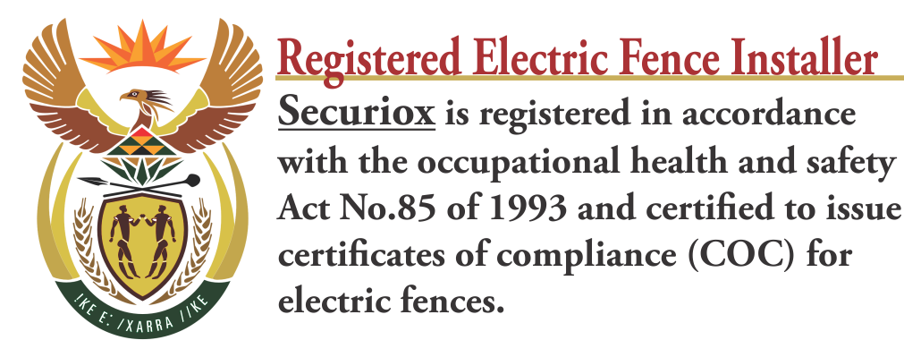 Electric Fence Certification